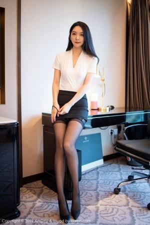 职场OL内衣诱惑女秘书丝袜美腿高跟鞋性感女神语画界-[小热巴]超高清写真图片 1620248401更新