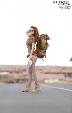 丝袜美腿翘臀透视装人体艺术大尺度美女模特AISS爱丝-[若兮Baby]超高清写真图片 1620268310更新