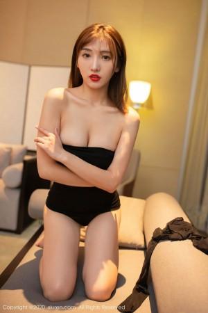 旗袍美女丝袜美腿翘臀透视装美胸美女模特尤果网-[芝芝Booty]超高清写真图片|1620223717更新