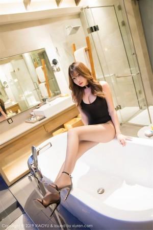 黑丝美腿浴室美女翘臀高跟鞋大尺度性感女神语画界-[芝芝Booty]超高清写真图片|1620224142更新