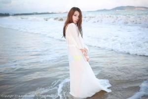 比基尼沙滩美女透视装嫩模美女模特秀人网-[嘉宝贝儿]超高清写真图片|1620405483更新