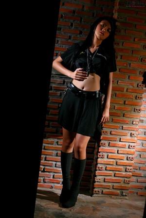 VOL.420 [TheBlackAlley] Christy Kee 女警制服高品质壁纸大图