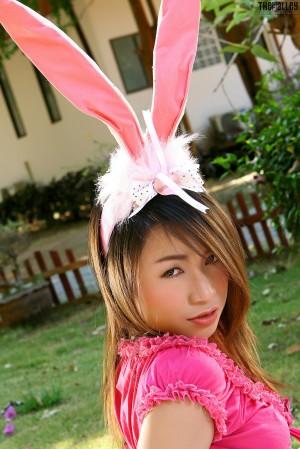 VOL.957 [TheBlackAlley] Stephanie Chow 可爱兔女郎高品质壁纸大图