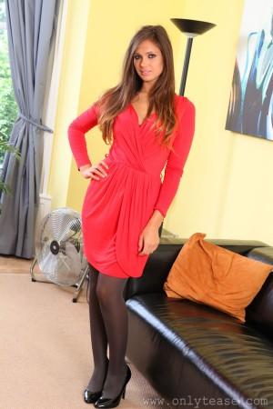 VOL.169 Louisa Marie《红色连衣裙》 [OnlyTease]高品质壁纸大图