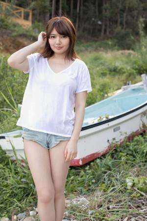 VOL.96 [Minisuka.tv]人体艺术阳光美乳背心:泉屋アイナ高品质写真套图(50P)