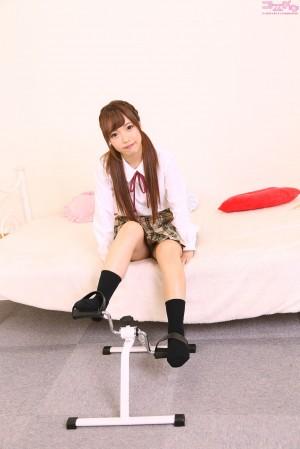VOL.586 [Cosdoki]学生装:爱濑美希(愛瀬美希)高品质写真套图(45P)