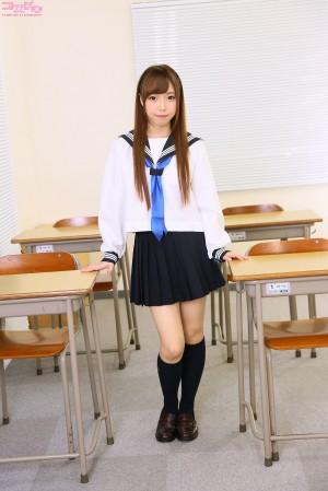 VOL.615 [Cosdoki]校服:爱濑美希(愛瀬美希)高品质写真套图(52P)