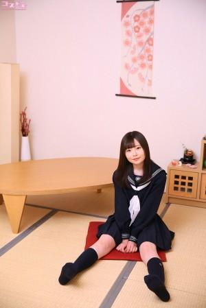 VOL.105 [Cosdoki]JK制服:西野たえ(胡桃多惠胡桃たえ)高品质写真套图(48P)