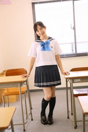 VOL.94 [Cosdoki]学生装:叶山夏恋(葉山夏恋)高品质写真套图(35P)