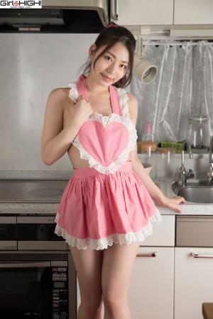 VOL.759 [Girlz-High]女仆粉嫩美厨娘:鸣海千秋(鳴海千秋)高品质写真套图(65P)