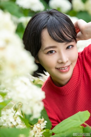 VOL.427 [Graphis]短发日本少妇顶级少妇:三宫椿(三宮つばき)高品质写真套图(47P)