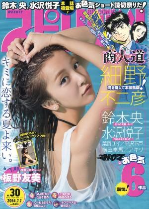 VOL.941 [Weekly Big Comic Spirits]日本女星:板野友美(ともちん)高品质写真套图(9P)