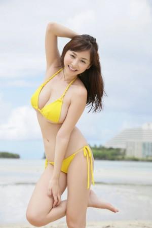 VOL.973 [YS Web]极品比基尼大胸巨乳沙滩美女:杉原杏璃高品质写真套图(100P)