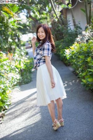 VOL.244 [Girlz-High]阳光正妹连衣裙:山中真由美高品质写真套图(50P)