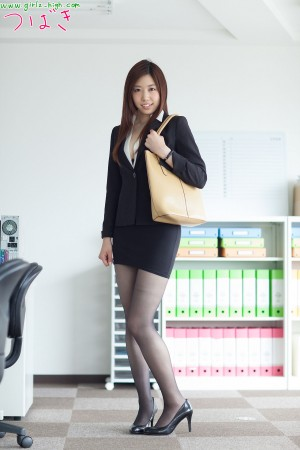VOL.907 [Girlz-High]办公室丝袜诱惑OL美女:上仓つばき(上倉つばき)高品质写真套图(35P)
