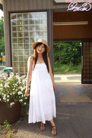VOL.658 [Minisuka.tv]长裙唯美清纯少女:山中真由美高品质写真套图(50P)