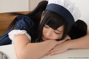 VOL.702 [LovePop]女仆黑丝萝莉:亚须希(あず希)高品质写真套图(69P)