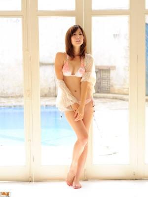 VOL.21 [Bomb.TV]清新妹子嫩模D罩杯美女:杉本有美高品质写真套图(40P)