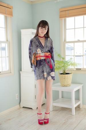 VOL.571 [Minisuka.tv]和服软妹长发美女:近藤麻美(近藤あさみ)高品质写真套图(45P)