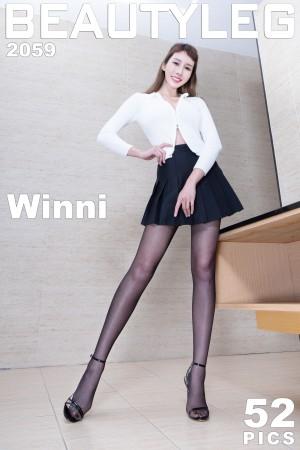 VOL.378 [Beautyleg]丝袜美腿:腿模Winni(Beautyleg Winni)高品质写真套图(52P)