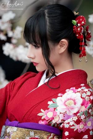 VOL.1178 [网络美女]和服:雨波_HaneAme高品质写真套图(38P)