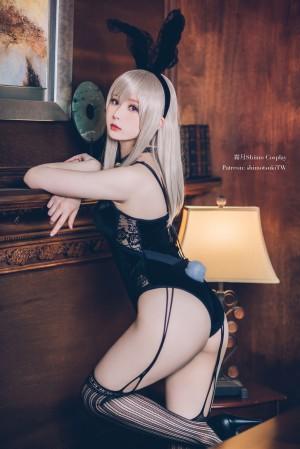 VOL.192 [网络美女]兔女郎:霜月shimo高品质写真套图(14P)