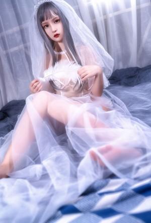 VOL.1296 [网络美女]福利婚纱透视美女:晕崽(晕崽Zz)高品质写真套图(19P)