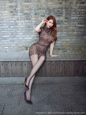 VOL.1678 [花漾]旗袍巨乳丝袜熟女:Egg_尤妮丝(肉蛋妹,尤妮丝)高品质写真套图(55P)