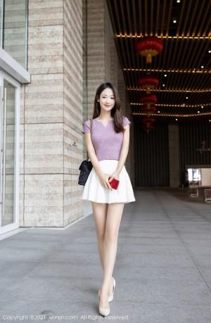 VOL.483 [秀人网]街拍美腿街拍短裙迷你裙:唐安琪高品质写真套图(82P)