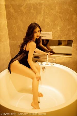 VOL.23 [秀人网]睡衣浴室性感女郎:刘艾琳(刘艾琳Allen)高品质写真套图(39P)
