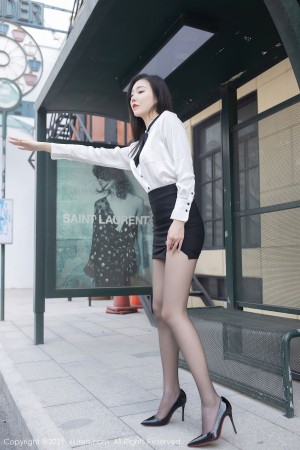 VOL.409 [秀人网]黑丝美腿黑丝制服黑丝诱惑:安然Maleah高品质写真套图(68P)
