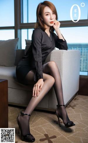 VOL.732 [LD零度]丝袜熟女黑丝制服黑丝诱惑:模特优优高品质写真套图(56P)