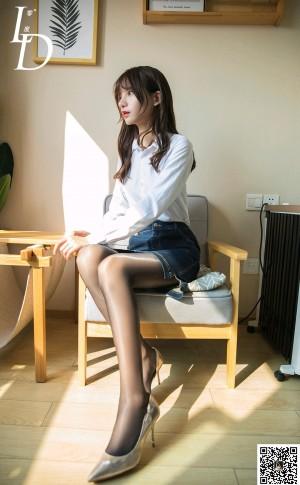 VOL.536 [LD零度]黑丝白领丽人:紫薇高品质写真套图(50P)