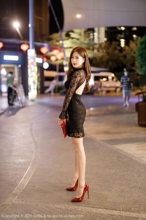 VOL.559 [爱蜜社]蕾丝街拍美腿街拍短裙:杨紫嫣(杨紫嫣Cynthia)高品质写真套图(55P)