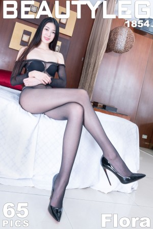 VOL.1477 [Beautyleg]御姐高跟黑丝美腿丝袜短裙:蔡茵茵(腿模Flora)高品质写真套图(60P)