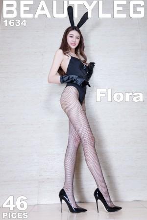 VOL.13 [Beautyleg]兔女郎制服丝袜美腿:蔡茵茵(腿模Flora)高品质写真套图(52P)