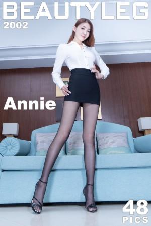 VOL.1764 [Beautyleg]丝袜制服:腿模Annie(Beautyleg Annie)高品质写真套图(48P)