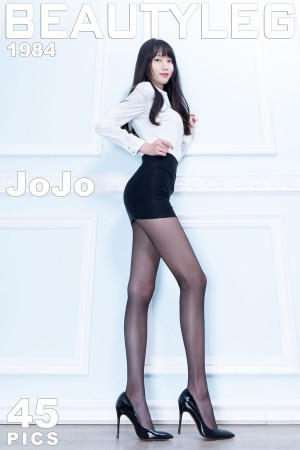 VOL.1099 [Beautyleg]美腿黑丝美腿:腿模JoJo(Beautyleg JoJo)高品质写真套图(45P)