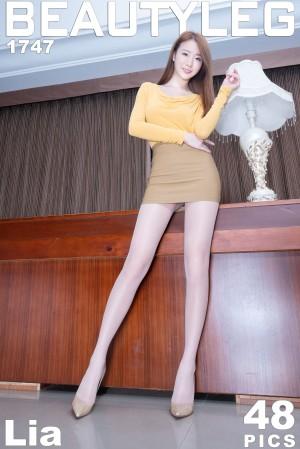 VOL.1772 [Beautyleg]OL美女长腿美女丝袜制服:杨思原(腿模Lia,Lia杨思原)高品质写真套图(48P)