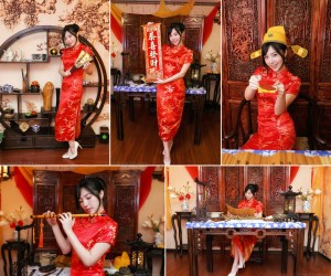 VOL.1210 [台湾正妹]古典旗袍:陈思颖(Zora陳思穎)高品质写真套图(73P)