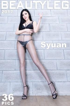 VOL.605 [Beautyleg]黑丝美腿:赵芸(腿模Syuan,Syuan赵芸)高品质写真套图(36P)