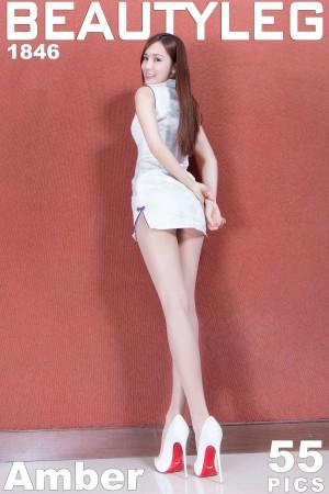 VOL.50 [Beautyleg]美腿旗袍高跟肉丝袜:腿模Amber(Beautyleg Amber)高品质写真套图(50P)