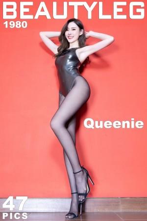 VOL.1211 [Beautyleg]高跟美腿黑丝美腿:郭珉妏(腿模Queenie)高品质写真套图(37P)