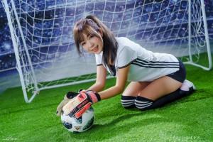 VOL.362 [台湾正妹]足球宝贝萌女:薩琳高品质写真套图(29P)