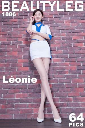 VOL.1247 [Beautyleg]美腿丝袜制服:Leonie高品质写真套图(59P)