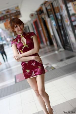 VOL.261 [台湾正妹]古典旗袍优雅美女:黄淑华(腿模Maggie)高品质写真套图(53P)