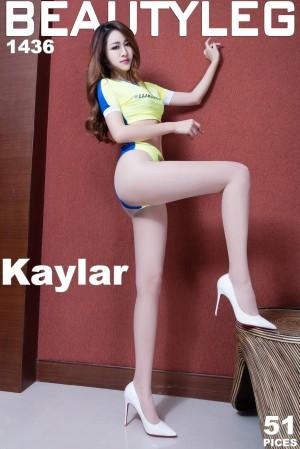 VOL.1932 [Beautyleg]丝袜美腿长腿美女:康凯乐(腿模Kaylar)高品质写真套图(45P)
