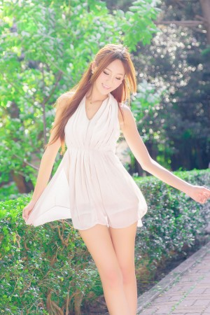 VOL.1615 [网络美女]清新唯美:Winnie小雪(庄咏惠,庄温妮,腿模Winnie)高品质写真套图(63P)