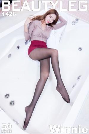 VOL.437 [Beautyleg]丝袜美腿黑丝OL美女:Winnie小雪(庄咏惠,庄温妮,腿模Winnie)高品质写真套图(44P)
