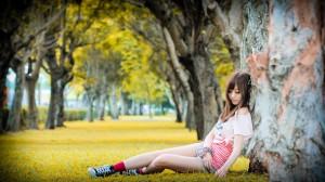 VOL.28 [台湾正妹]清纯甜美美少女正妹:小艾高品质写真套图(9P)